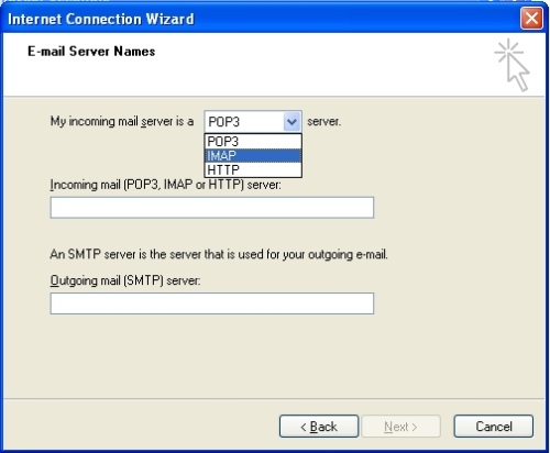 how to create my email server