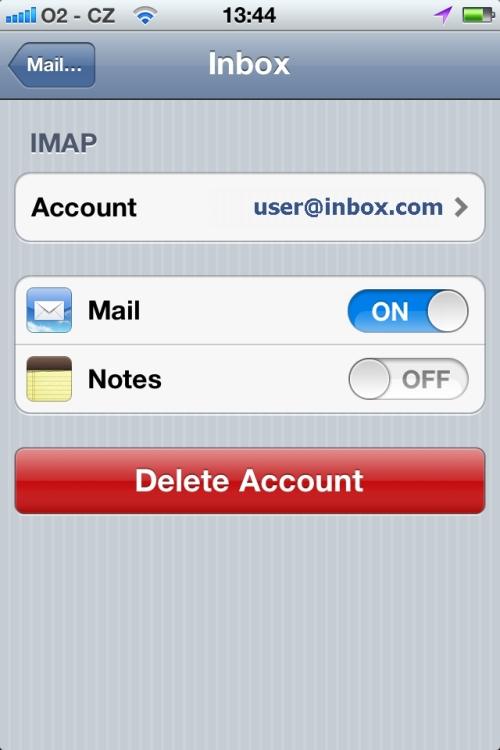1und1 E-Mail einrichten ipad
